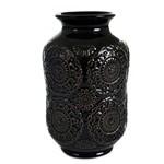 Vaso Ceramica Preto