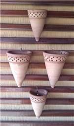 Ficha técnica e caractérísticas do produto Vaso Tipo Cone de Parede - (G)