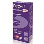 Ficha técnica e caractérísticas do produto Vasodilatador Agener União Petpril 10mg 30 Comprimidos