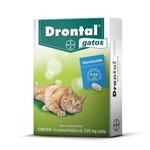Ficha técnica e caractérísticas do produto Vermicida Drontal para Gatos - 4 Comprimidos