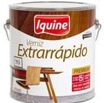 Ficha técnica e caractérísticas do produto Verniz Extrarrápido Brilhante Imbuia 3,6L Iquine