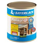 Ficha técnica e caractérísticas do produto Verniz Polikol Acetinado Mogno 900ml Sayerlack