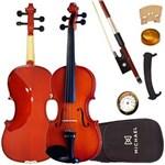 Ficha técnica e caractérísticas do produto Violino 4/4 Tradicional VNM40 Michael com Estojo + Espaleira