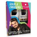 Vitalcap Solta a Cabeleira Kit Whey Proteín Hair Shampoo 240ml +condicionador 240ml