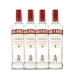 Ficha técnica e caractérísticas do produto Vodka Smirnoff Red 4x 998ml