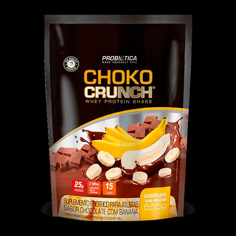 3w Choko Crunch Whey Protein Shake (555g) Probiótica