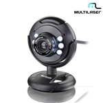 Ficha técnica e caractérísticas do produto Webcam 16MP Nightvision Plug e Play com Microfone Embutido WC045 – Multilaser