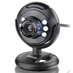 Ficha técnica e caractérísticas do produto Webcam Multilaser Night Vision 16 MP WC045 Preta