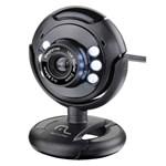 Ficha técnica e caractérísticas do produto Webcam Multilaser WC045 Plug e Play 16Mp NighTVision Microfone USB