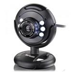 Ficha técnica e caractérísticas do produto Webcam Plug e Play 16Mp NighTVision Microfone USB Preto - Multilaser WC045