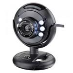 Ficha técnica e caractérísticas do produto Webcam USB com Microfone Preta WC045 - Multilaser