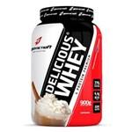 Ficha técnica e caractérísticas do produto Whey Protein Concentrado Delicious Whey - Body Action - CAPPUCCINO - 900 G