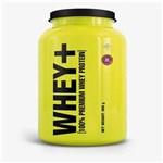 Ficha técnica e caractérísticas do produto Whey+ Whey Protein - 4+ Nutrition - 900g - Amêndoa