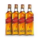 Whisky Johnnie Walker Red Label 4x 1000ml
