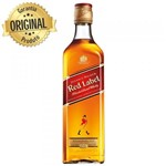Ficha técnica e caractérísticas do produto Whisky Johnnie Walker Red Label 500ml