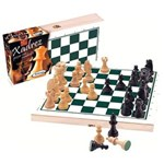 Ficha técnica e caractérísticas do produto Xadrez com Peças de Madeira 60032 - Xalingo